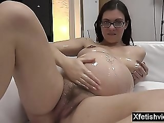 Brunette pregnant toss increased hard by cumshot asian casting porn