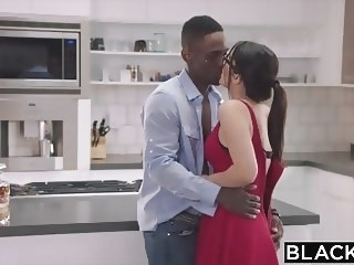 BLACKED Valentina Nappi takes the biggest bbc in the world top rated brunette porn